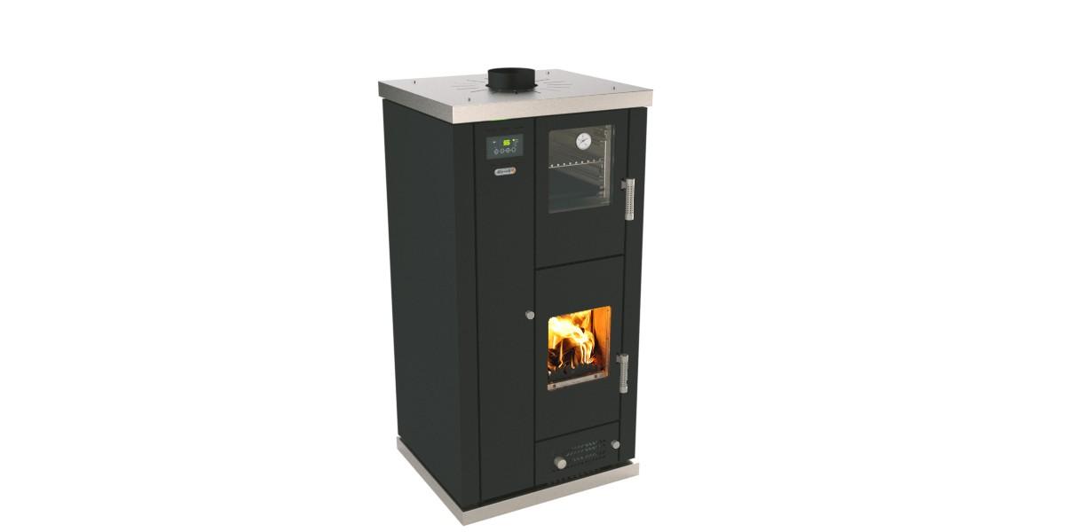 Stufe termostufe caldaia legna pellet as paganini snc for Stufe italkero