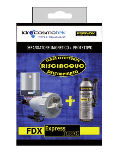 Defangatore magnetico+protettivo Fimi Fernox Kit Idrocosmotek as paganini